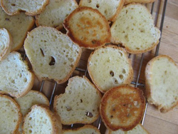 gluten free french bread sliced