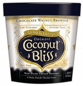 Coconut Bliss Chocolate Walnut Brownie