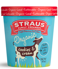 Straus Cookies 'N Cream